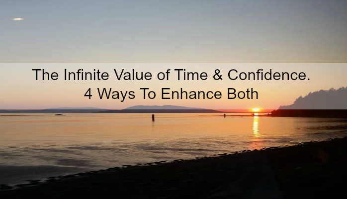Infinite Value of Time and Confidence