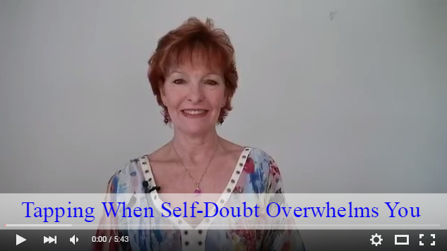 Tapping When Self Doubt Overwhelms You