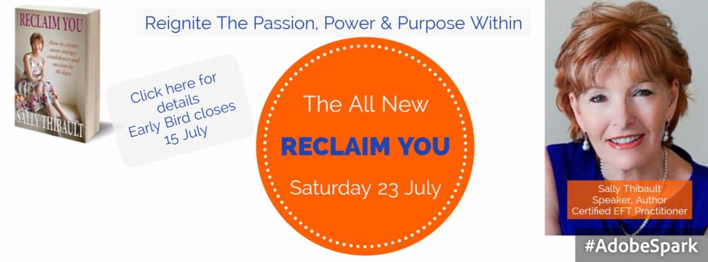 Facebook Cover Reclaim You July