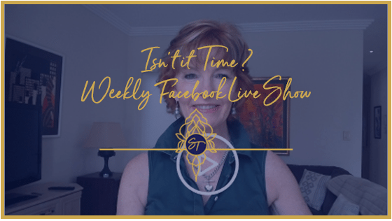 Isn't It Time? – Weekly Facebook Live Show