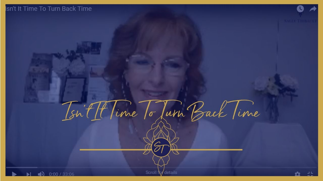 Turn back time, Sally Thibault, EFT