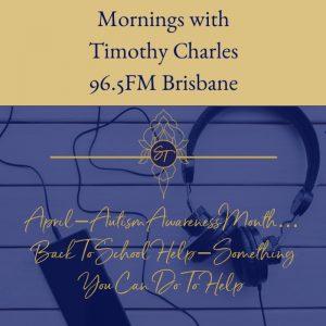 Autism, Sally Thibault, Timothy Charles