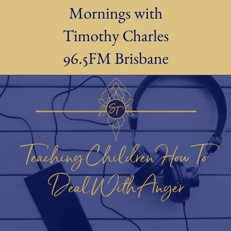 TEACHING CHILDREN HOW TO DEAL WITH ANGER