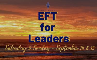 EFT Training: Saturday and Sunday I September 14 & 15, 2019