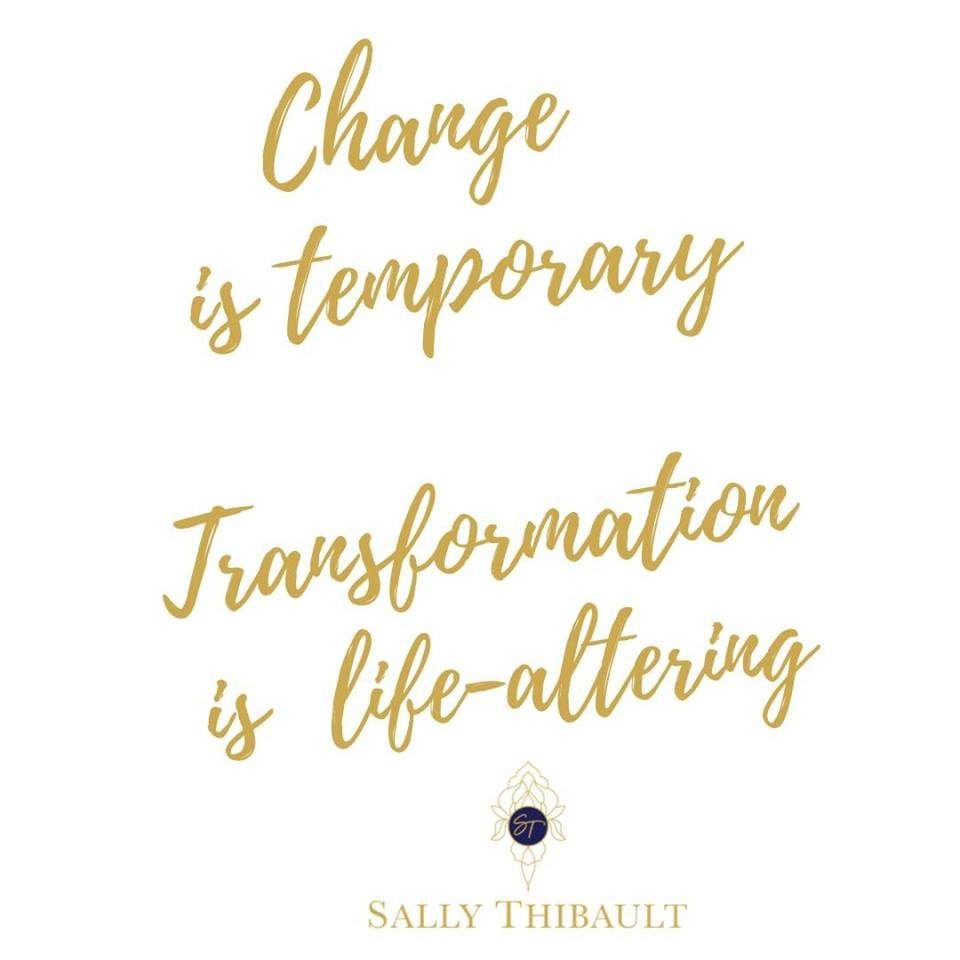 Change is hard, and often temporary