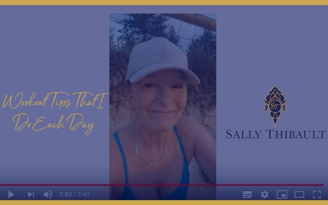 workout tips, sally thibault, eft