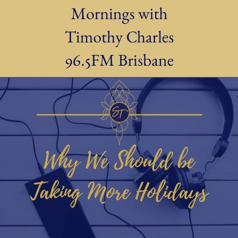 taking more holidays, sally thibault, eft