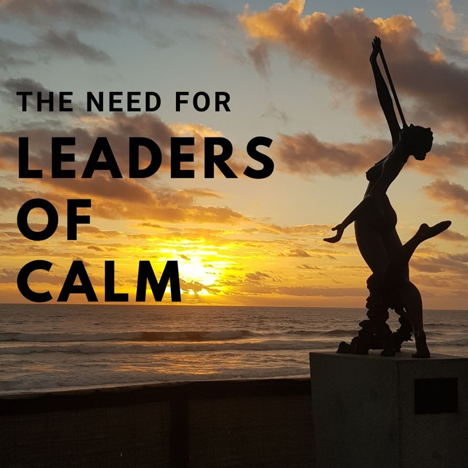 leaders of calm, sally thibault