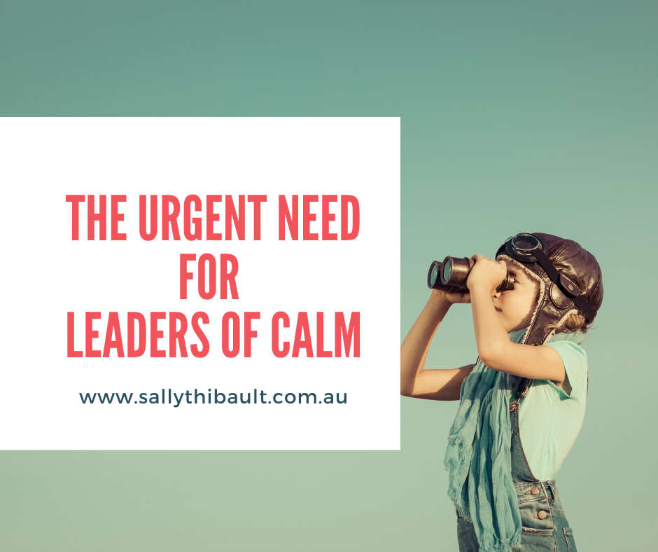 The Urgent Need for Leaders of Calm