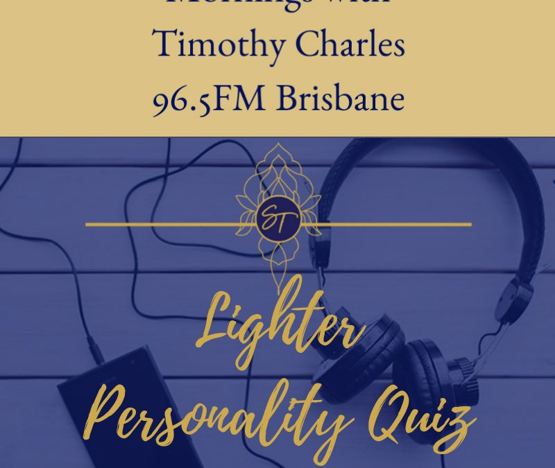 Lighter Personality Quiz