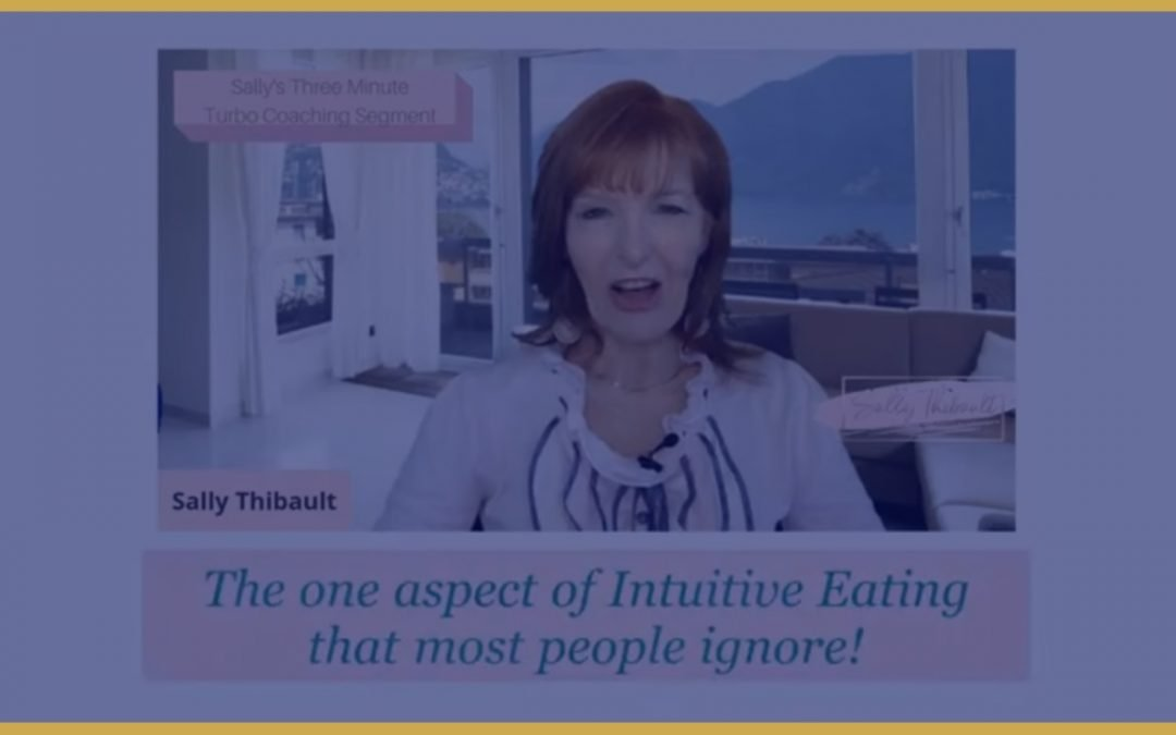 One Aspect of Intuitive Eating That Most People Ignore